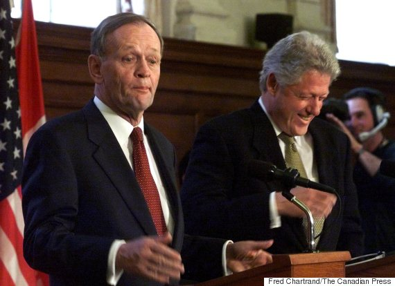 jean chretien bill clinton