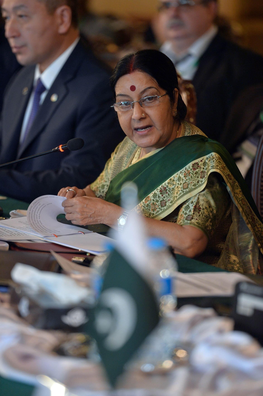 sushma swaraj pakistan