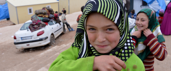 SYRIAN REFUGEES SMILEY