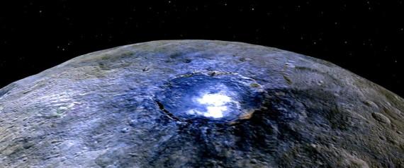 Λύθηκε μυστήριο των λαμπερών κηλίδων στον πλανήτη Δήμητρα: Δεν είναι τίποτα άλλο παρά άλατα του...μπάνιου