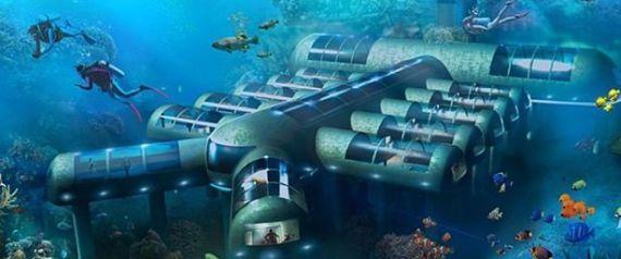 OCEAN UNDERWATER HOTEL
