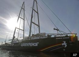 Greenpeace Ship Rainbow Warrior Iii Bremen