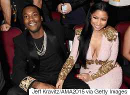 Nicki Minaj Is Rocking Some Serious Bling On Her Ring Finger