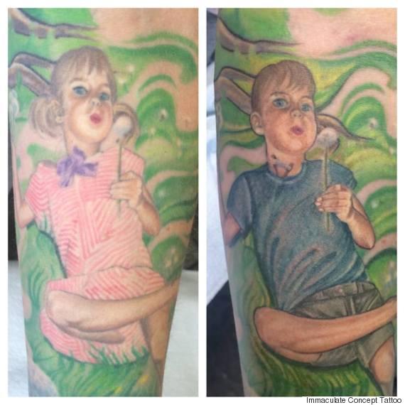 steve peace tattoo
