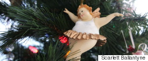 FAT ANGEL ORNAMENT