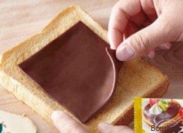Mieux que le fromage, le chocolat en fines tranches! (PHOTOS)