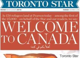 시리아 난민들을 환영하는 캐나다의 품격