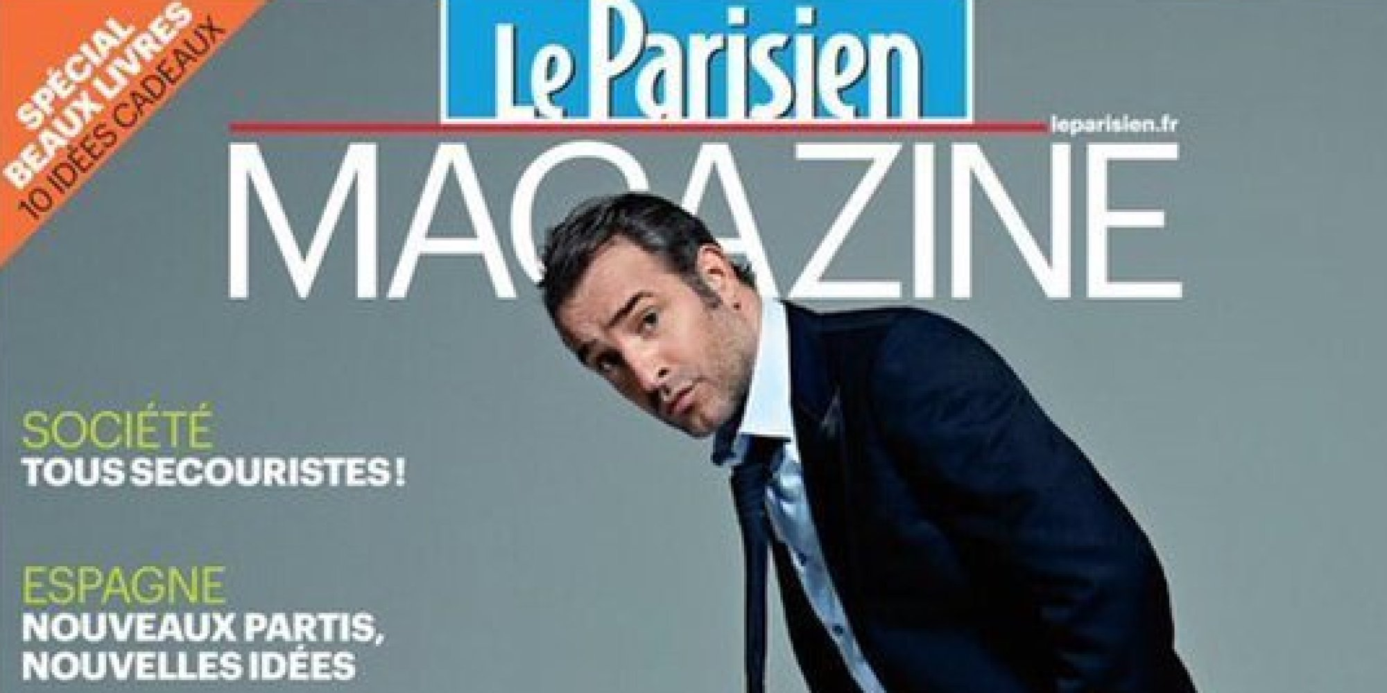 Jean dujardin trouve sa couverture du parisien magazine for Dujardin facebook