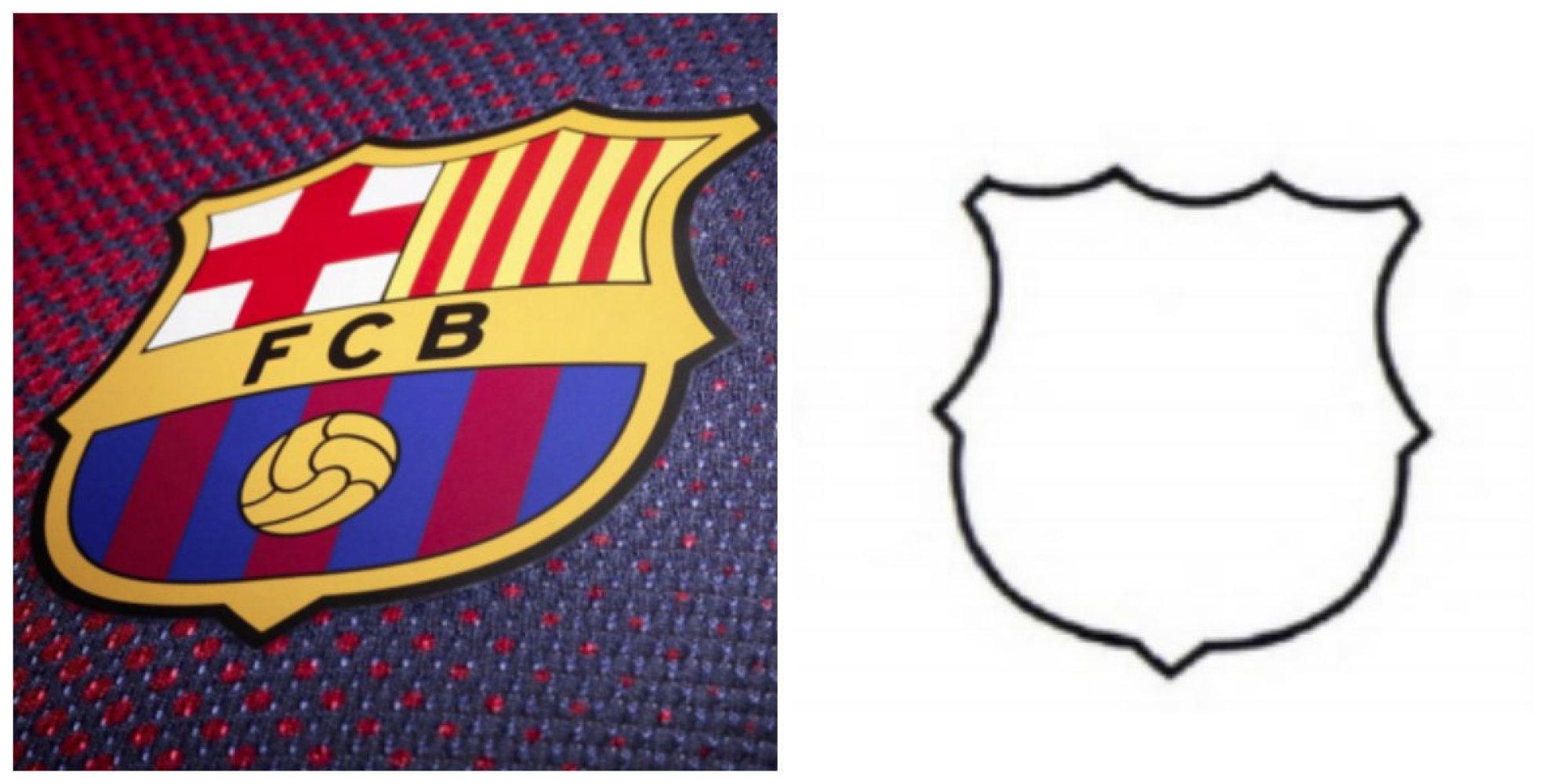 Les contours du logo du bar a ne deviendront pas une marque - Logo equipe de foot espagne ...