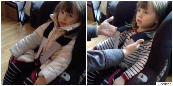 Danger Of Children Wearing Thick Winter Coats In Car Seats Shown