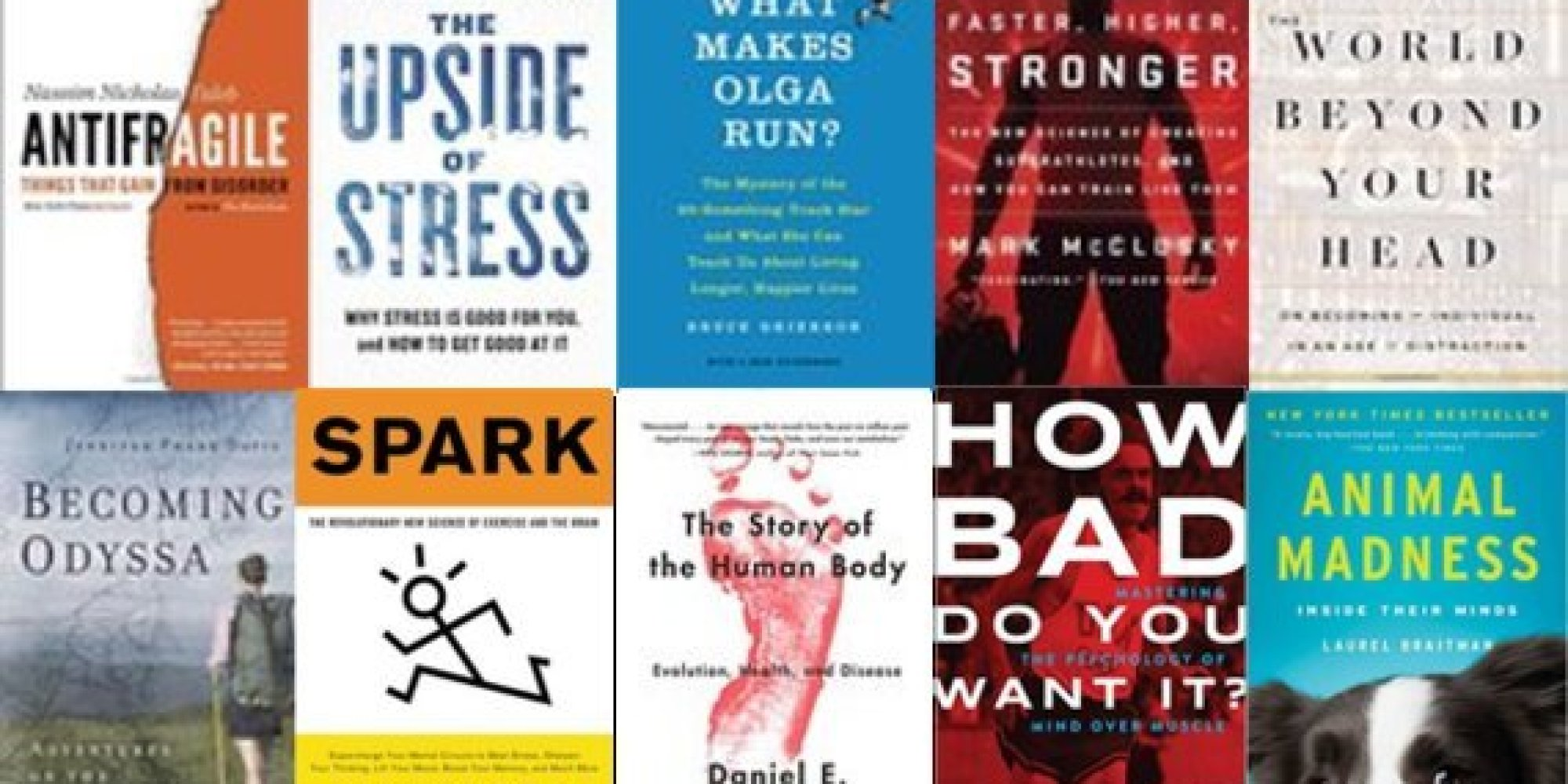 best health and fitness books in 2015