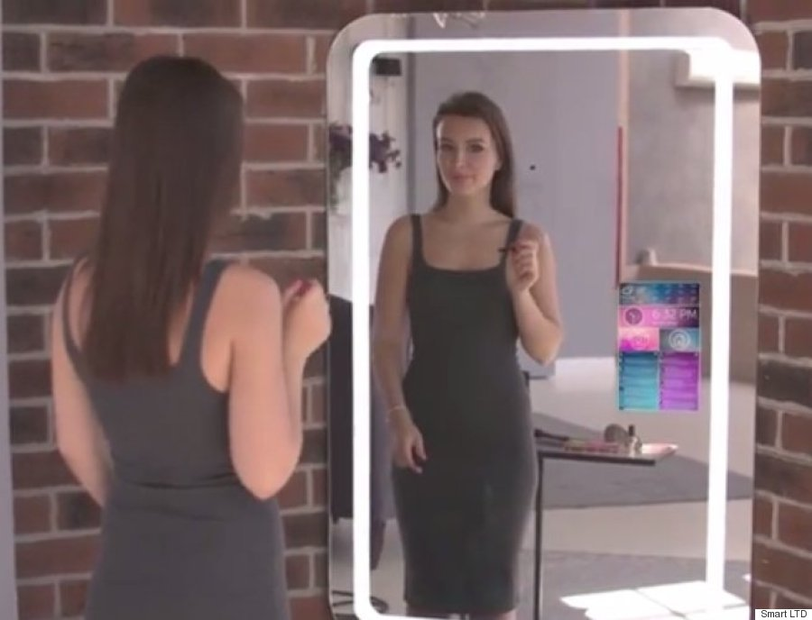 Move Over Selfie Stick The Selfie Mirror Has Arrived