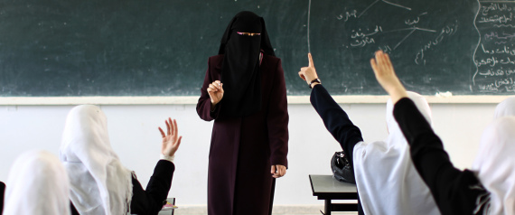 VEILED WOMEN TEACHERS