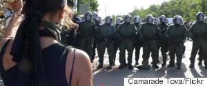 MONTEBELLO QUEBEC POLICE