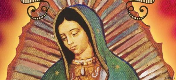 Una espectacular exposición de La Virgen de Guadalupe en Houston
