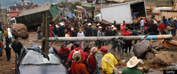 HEAVY RAINS EL SALVADOR