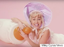 Miley Cyrus Her Most Bizarre Music Video To Date