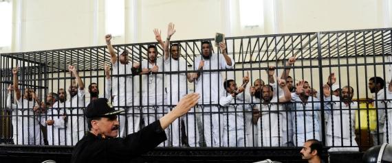 MUSLIM BROTHERHOOD TRIALS IN EGYPT