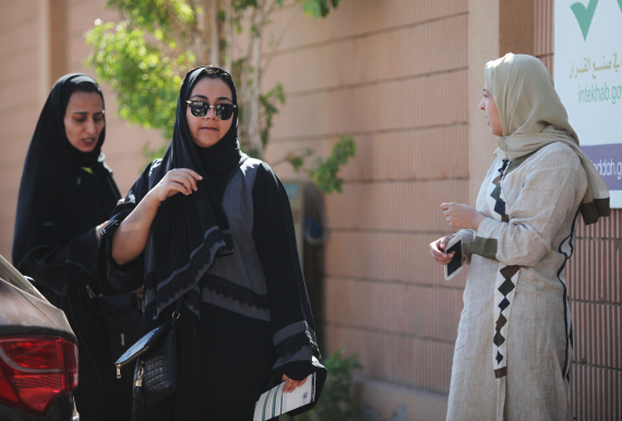 saudi women elections