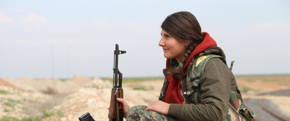 WOMEN FIGHTERS IN SYRIA