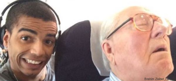 Condamné à retirer son selfie avec Jean-Marie Le Pen
