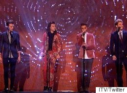 David Beckham Leads A-List 1D Tribute Videos During 'X Factor' Final