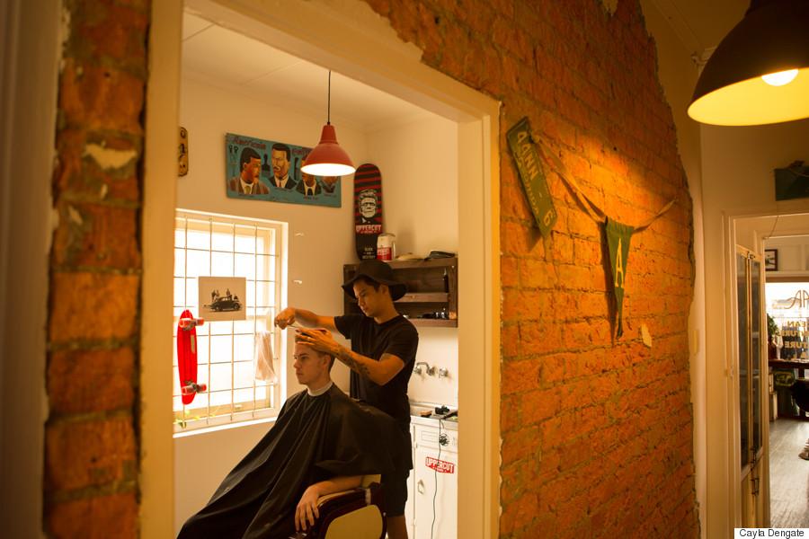 alfreds apartment barber shop