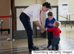 All The Times Trudeau's Kids Stole Our Hearts In 2015