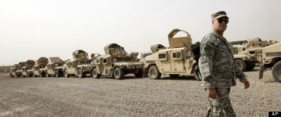 Troops Leave Iraq
