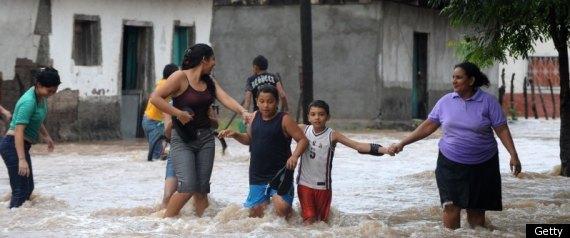 CENTRAL AMERICA FLOODS