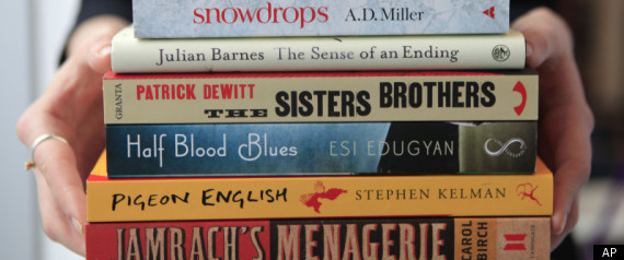 BOOKER PRIZE 2011 SHORTLIST