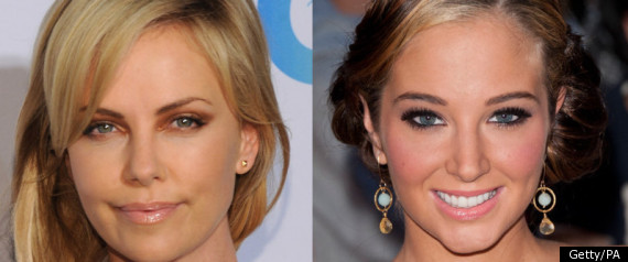 TULISA AND CHARLIZE THERON