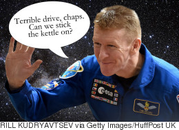 #BritishAstronautProblems Serves To Warn Tim Peake Of The Hazards Of Space Flight