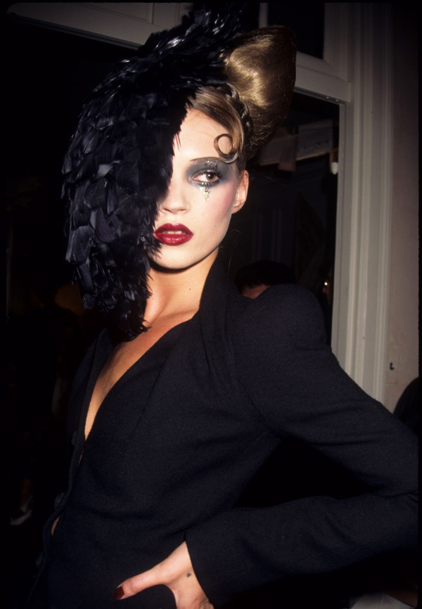 Today 39s pick is of Kate Moss during John Galliano 39s Spring 1995 show during