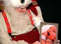 Ce père Noël a fait une rencontre bouleversante