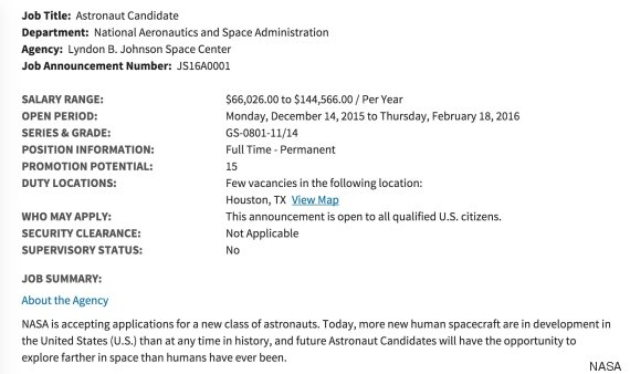nasa job openings - photo #33