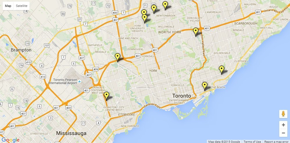 beer map ontario