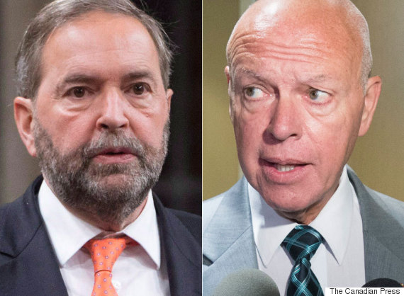 thomas mulcair jeanguy dagenais