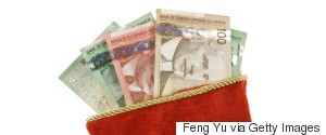 CANADIAN MONEY STOCKING