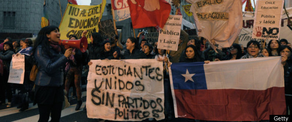 Chile Military Drafts Thousands