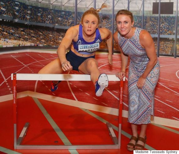 sally pearson madame tussauds