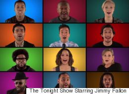 The Cast Of 'The Force Awakens' Join Jimmy Fallon For An Acapella Medley Of Star Wars Music