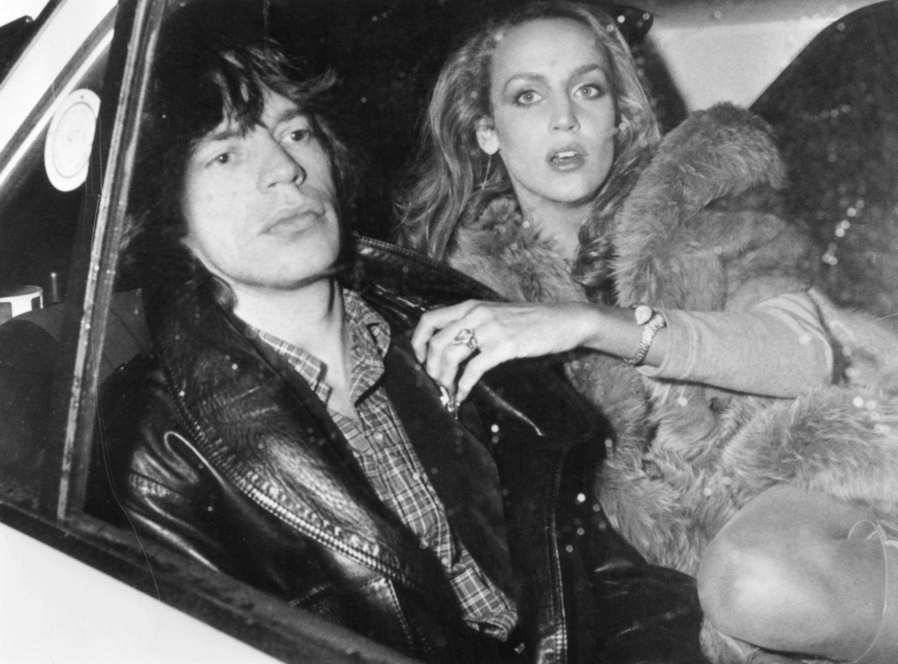 jerry hall fur