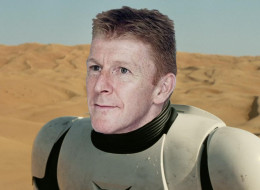 Tim Peake Becomes First British Astronaut To Join Star Wars