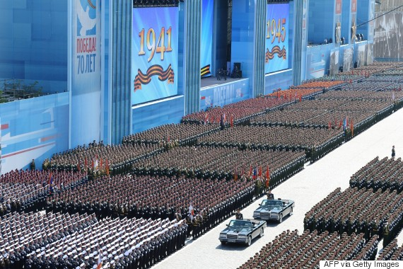 russia putin parade