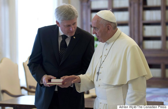 stephen harper pope