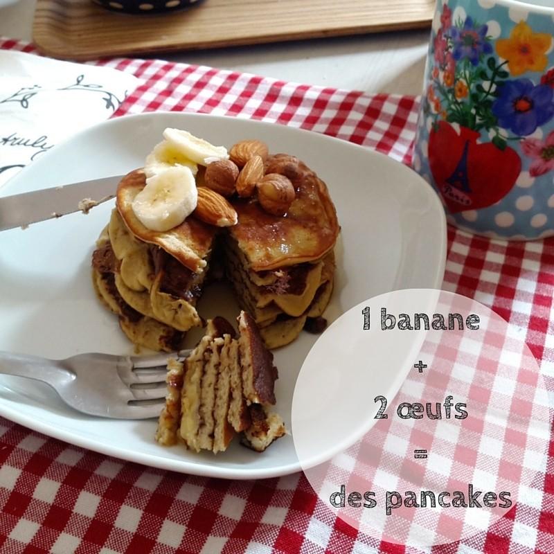 pancakes banane