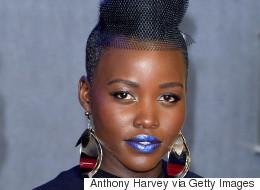How To Pull Off Blue Lipstick Like Lupita Nyong'o