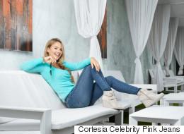 ¡Qué sexy! Ximena Córdoba modela su línea de 'jeans'