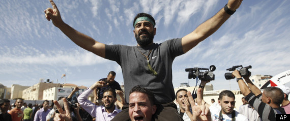 PALESTINIAN PRISONERS FREED